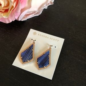 Kendra Scott Alex in Navy Gold Dusted